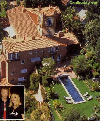 House Pic New Of Madonna Hollywood Celebrity Homes Picture