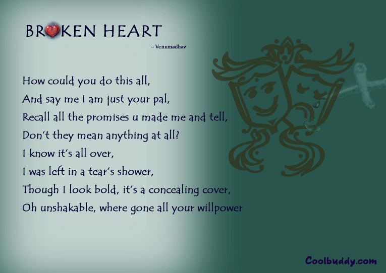 broken heart pictures. roken heart poem