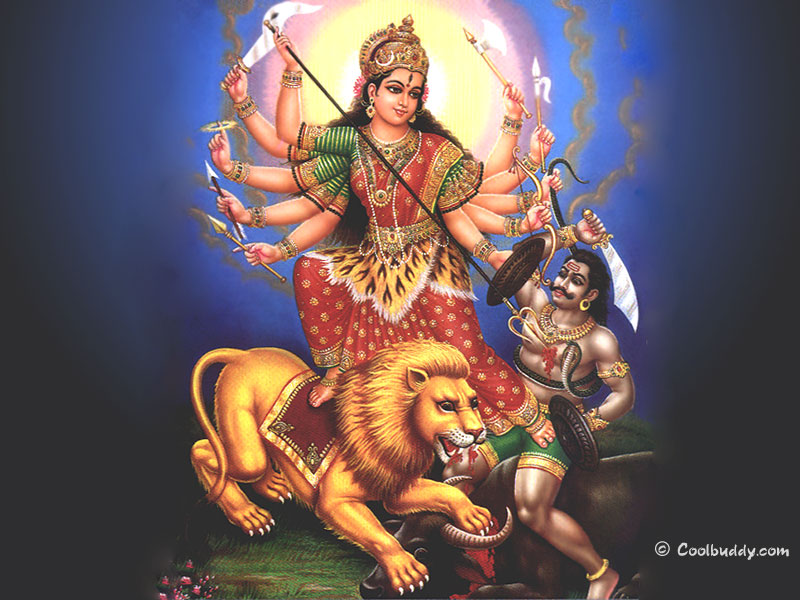 wallpaper god desktop. Lord Durga Wallpaper: durga